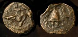 Ancient Coins - > Herod Archelaus 4 BC - 6 AD. AE Prutah. H 1196.