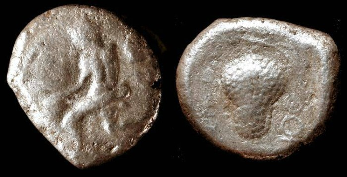 Ancient Coins - Soloi, Cilicia. AR  Stater. 425-360 BC.  Very Rare