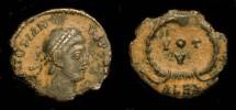 Ancient Coins - Jovian  363-364 AD. AE Follis. RIC VIII, 92 Alexandrea (S) Scarce.