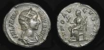 Ancient Coins - Julia Mamaea 222-235 AD. AR Denarius. Mother of Severus Alexander