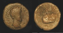 Ancient Coins - Roman Provincial. Commodus  177 - 192 AD. AE 17