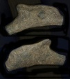 Ancient Coins - Celtic Bronze Dolphin Proto Money. Olbia, Black Sea Area. 5th century BC.