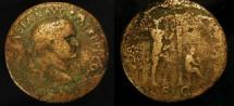 Ancient Coins - Vespasian 69-79 AD. AE Sestertius. Judaea Capta. Rare