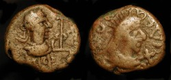 Ancient Coins - Kings of the Bosporus Thothorses and Diocletian Æ20
