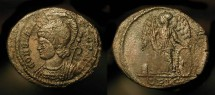 Ancient Coins - Constantinopolis City Commemorative.  332 AD. RIC 256, Rare (R1)