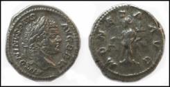 Ancient Coins - Caracalla 198-217 AD. AR Denarius. Moneta. RIC 224. Rome Mint