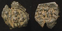 World Coins - Arab Byzantine. Goodwin Type D. Early Caliphate Derivative Coinage.