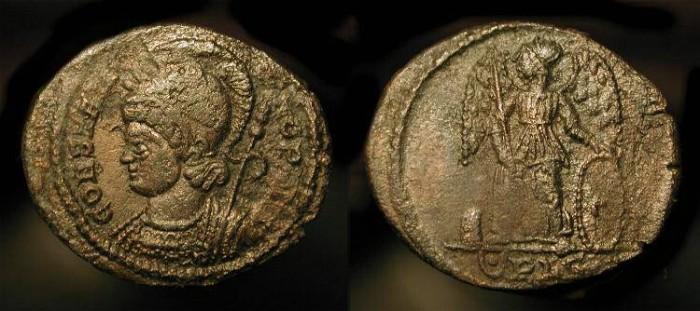 Ancient Coins - Constantinopolis City Commemorative.  332 AD. RIC 256, Rare (R1)