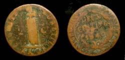 Ancient Coins - Haiti. 2 Centimes. 1840
