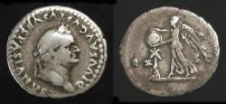 Ancient Coins - Vespasian 69-79 AD. AR Denarius. Judaea Capta. H 1586