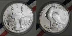 Ancient Coins - 1984 P Los Angeles Olympics BU Commemorative 90% Silver Dollar US Coin