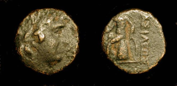 Ancient Coins - xSeleukos III Keraunos  (226–223 BC)  AE12