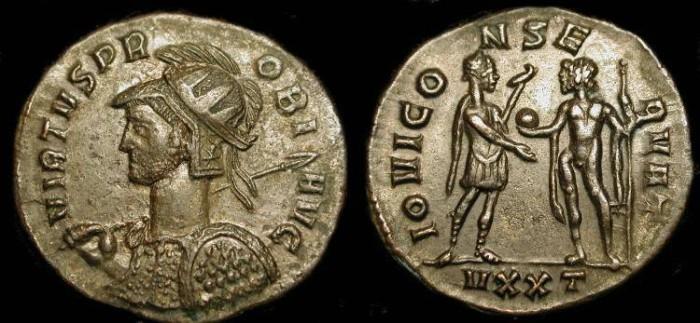 Ancient Coins - Probus  276-282 AD. AE Antoninianus. Ticinum Mint.