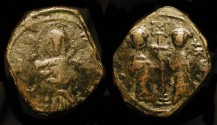 World Coins - Byzantine Empire. Constantine X 'Ducas' 1059-1067 AD, with Eudocia. SB 1853