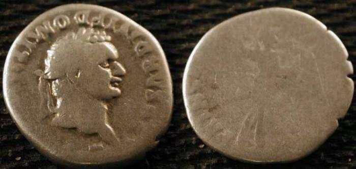 Ancient Coins - Domitian . 81-96 AD . AR Denarius