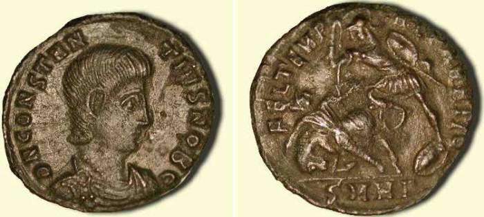 Ancient Coins - Constantius Gallus .  351 - 354  AD