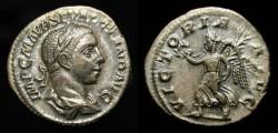 Ancient Coins - Severus Alexander,  222-235 AD. Silver Denarius. RIC 180.