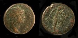 Ancient Coins -  > Agrippa II under Domitian. AE 19. Hendin 1285