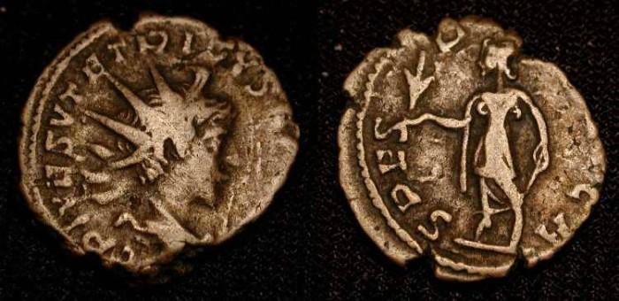Ancient Coins - Tetricus II as Caesar 270 -273 AD. AE Antoninianus