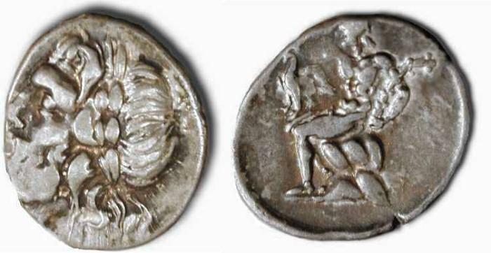 Ancient Coins - Arcadia , Megalopolis . Circa 182-168 BC .