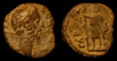 Ancient Coins - City Coins of Judaea. Commodus 177 - 192 AD.   Syria, Gaba.  AE 22
