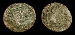 World Coins - 3rd century AD Barbarous radiate. Imitating a Gallo-Roman issue