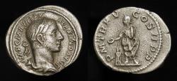 Ancient Coins - Severus Alexander, 222-235 AD. AR Denarius. RIC 55