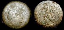 Ancient Coins - > Egypt. Ptolemy V.  204-180 BC. AE 27 mm. SG 7883.