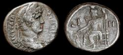 Ancient Coins - Roman Egypt. Hadrian Tetradrachm with Serapis and Cerberus