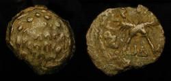 Ancient Coins - Judaea. Antonius Felix, Roman Procurator under Claudius, 52 - 60 AD