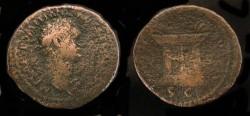 Ancient Coins - > Agrippa II under Domitian. AE 29