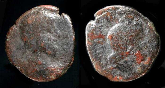 Ancient Coins -  City Coins of Judaea. Aelia Capitolina. Commodus 177-192 AD. AE 23