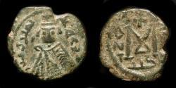 Ancient Coins - Arab Byzantine. Main Bilingual Series : TARTUS (ANTARDUS). AE Fals. Foss 80