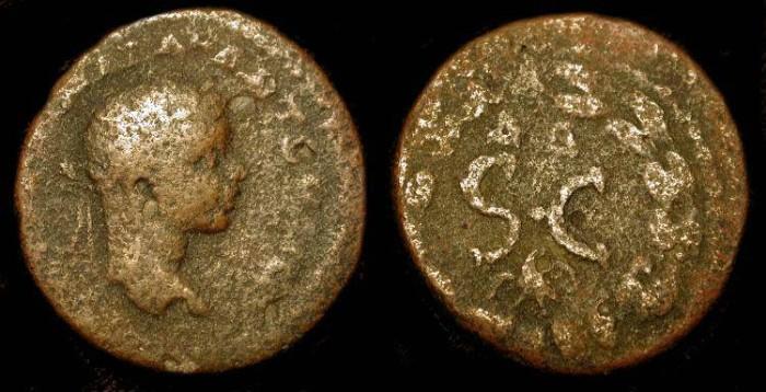 Ancient Coins - xElagabalus  218-222 AD.  Antioch. AE 21