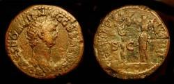 Ancient Coins - Domitian,81-96 AD. AE Dupondius. Judaea Capta