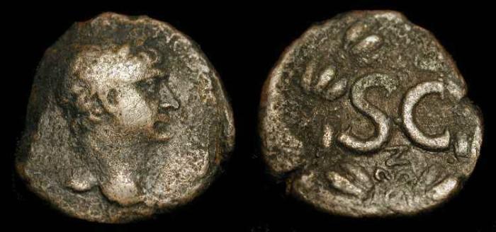 Ancient Coins - Trajan 98-117 AD. AE 27  Antioch.  Year 7
