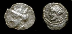 Ancient Coins - >Cilicia. Unknown Satrap. 4th Century BC. AR Obol