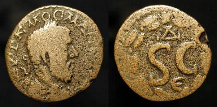 Ancient Coins - Macrinus. 217-218 AD. Syria, Antioch. AE 18