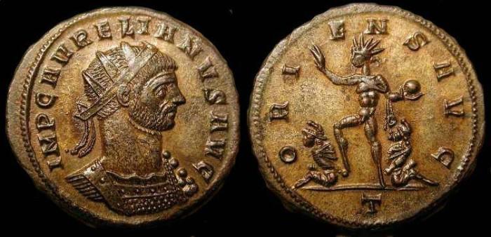 Ancient Coins - xAurelian 270-275 AD. AE Antoninianus. Superb !
