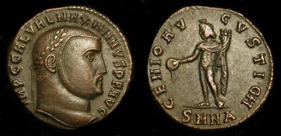 Ancient Coins - xMaximinus II   305-311 AD. AE Follis