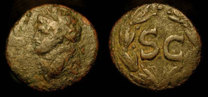 Ancient Coins - Domitian as Caesar, AE 22 of Antioch ad Orontem, Syria. 73-74 AD