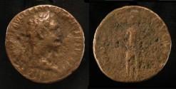 Ancient Coins - > Agrippa II under Domitian. AE 27. Hendin 1318