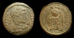Ancient Coins - Constantine the Great, 306-337 AD. AE Follis. Trier Mint, 321 AD.