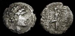 Ancient Coins - Seleukid Empire. Alexander I Balas. 150-145 BC. Silver Drachme.