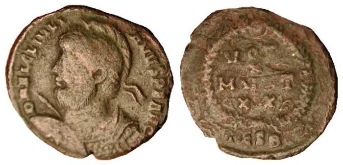 Ancient Coins - z Julian II  .   361 - 363   AD  .   AE 3 .