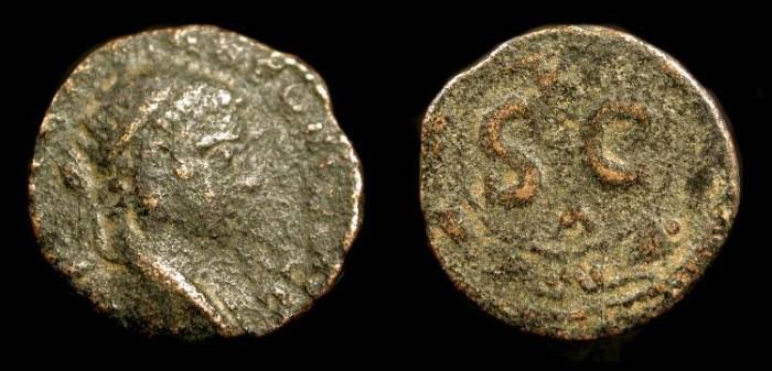 Ancient Coins - Roman Provincial. Syria, Antioch. Elagabalus  218-222 AD.