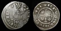 World Coins - Crusaders. Henry II King of Cyprus & Jerusalem 1285-1324. AR Petit Gros. CCS 51