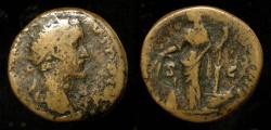 Ancient Coins - Antoninus Pius  138-161 AD. AE Dupondius. Annona