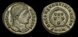 Ancient Coins - Constantine the Great (307-337 AD). AE Follis. Heraclea Mint. RIC VII 60. Superb Example !