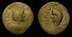 Ancient Coins - Heliopolis. Julia Domna,  AE 25 mm.
